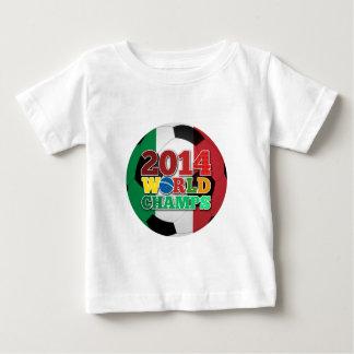 Welt 2014 kaut Ball - Italien Baby T-shirt