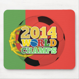 Welt 2014 kaut Ball - Portugal Mousepad