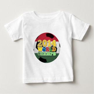 Welt 2014 kaut Ball - Ungarn Baby T-shirt