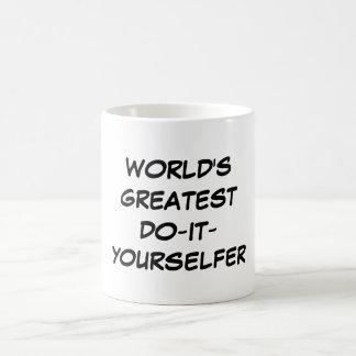 Welt am beststen Tun-Es-Yourselfer Tasse