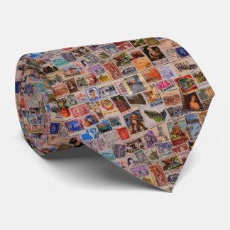 Welt der Briefmarken - die Krawatte der Männer
