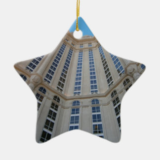Welt des Stahls Keramik Stern-Ornament