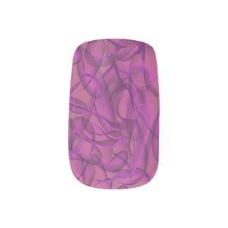 Welt des Wirbel auch Minx Nagelkunst