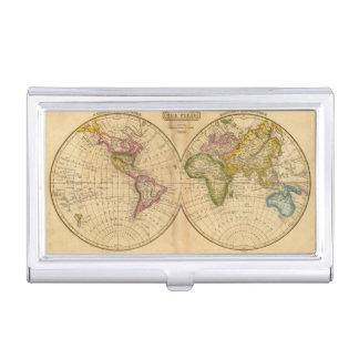 Welt durch Worcester Visitenkarten Etui