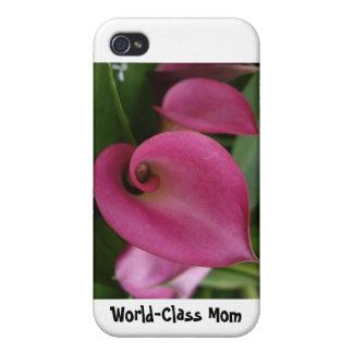 Welt-Klassemamma - harter Muschel-Fall für iPhone iPhone 4 Etui