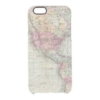 Welt, Mercators Projektion Durchsichtige iPhone 6/6S Hülle