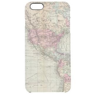 Welt, Mercators Projektion Durchsichtige iPhone 6 Plus Hülle
