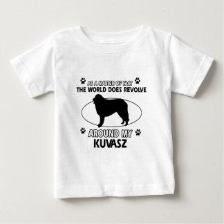 Welt rotiert um mein kuvasz baby t-shirt