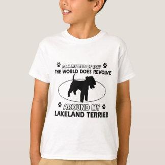 Welt rotiert um meinen Lakeland-Terrier T-Shirt