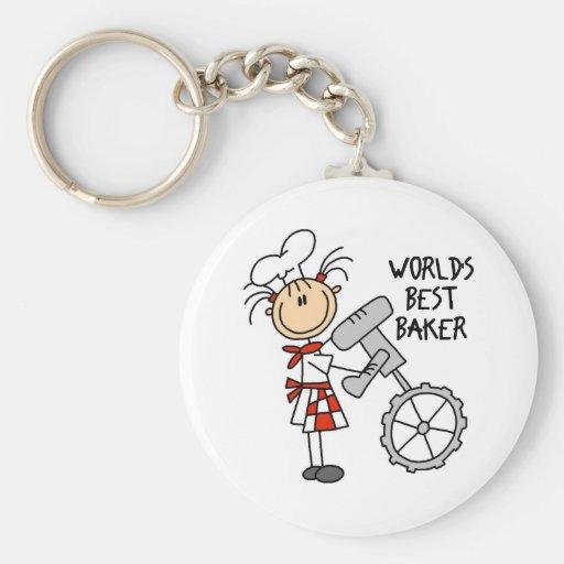 Weltbeste Bäcker-Geschenke Schlüsselbänder