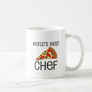 Weltbeste Kochs-Pizza Kaffeetasse
