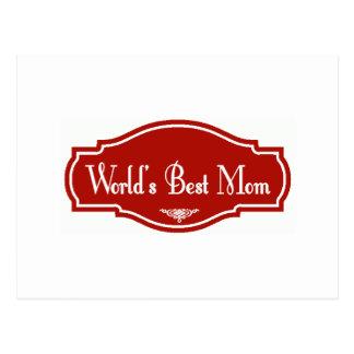 Weltbeste Mamma Postkarte