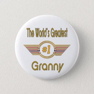 Weltbeste Oma Runder Button 5,1 Cm