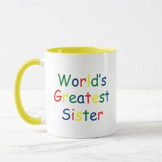 Weltbeste Schwester Tasse
