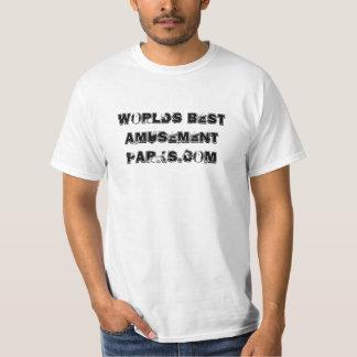 Weltbeste Unterhaltung Parks.com T-Shirt