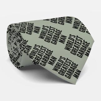 Weltbester Abfall-Mann Krawatten