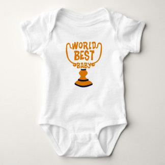 Weltbester Baby-Familien-Paar-Baby-Jersey-Bodysuit Baby Strampler