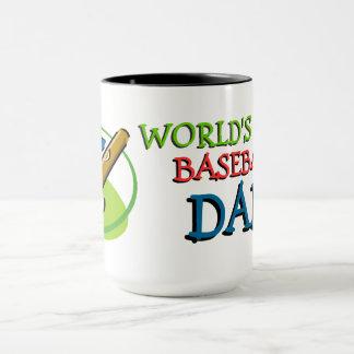 Weltbester Baseball-Vati Tasse