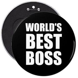 Weltbester Chef Runder Button 15,3 Cm