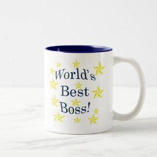 Weltbester Chef Zweifarbige Tasse