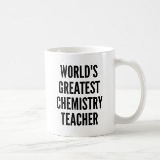 Weltbester Chemie-Lehrer Kaffeetasse