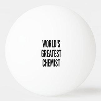 Weltbester Chemiker Tischtennis Ball