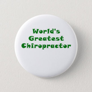 Weltbester Chiropraktor Runder Button 5,1 Cm