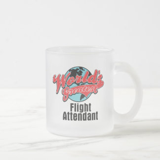 Weltbester Flugbegleiter Mattglastasse