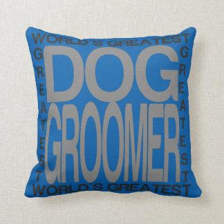 Weltbester HundeGroomer Kissen