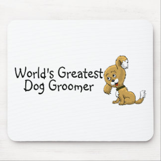 Weltbester HundeGroomer Mousepad