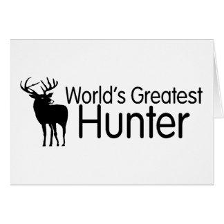 Weltbester Jäger Karte