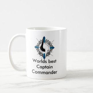Weltbester Kapitän Kommandant Tasse