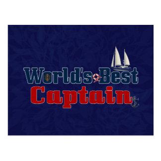 Weltbester Kapitän Postkarten