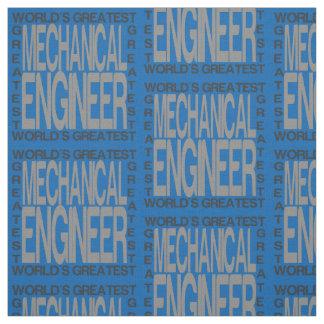Weltbester Maschinenbauingenieur Stoff