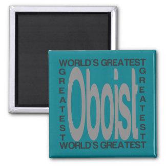 Weltbester Oboist Quadratischer Magnet