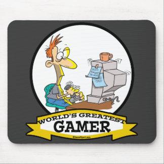 WELTBESTER PCgamer-JUGENDLICH CARTOON Mauspad
