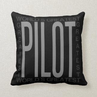 Weltbester Pilot Kissen