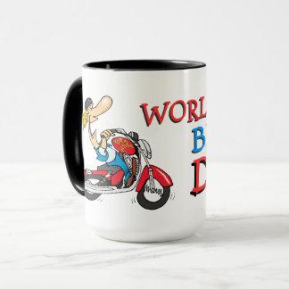 Weltbester Radfahrer-Vati Tasse