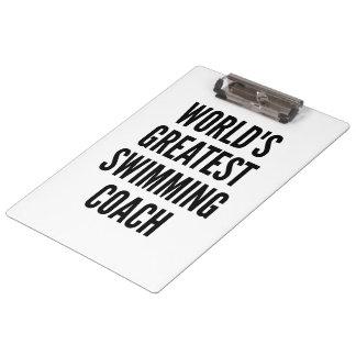 Weltbester Schwimmen-Trainer