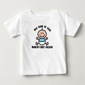Weltbestes Golfspieler-Vati-Baby-T-Stück Baby T-shirt