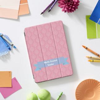 Weltbestes Lehrer-Lutscher-Rosa iPad Pro Cover