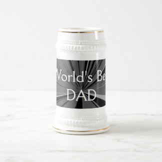 Weltbestes Vati-Bier Stein Bierglas