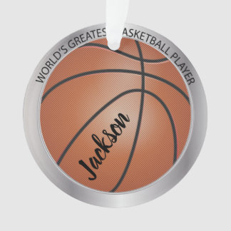 Weltbestster Basketball-Spieler Ornament
