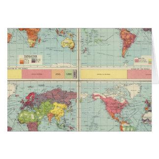 Weltbevölkerung Karte