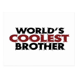 Weltcoolster Bruder Postkarte