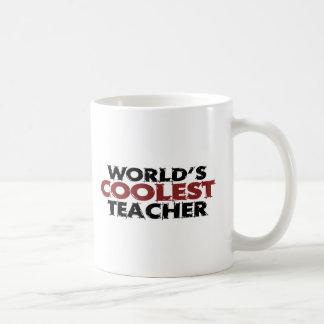 Weltcoolster Lehrer Kaffeetasse