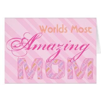 Welten die meiste fantastische Mamma-Karte Karte