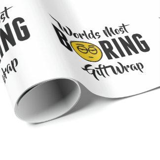 Welten die meisten bohrende lustige Emoji Neuheit Geschenkpapier