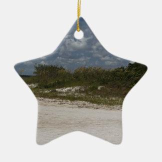 Welten weg keramik Stern-Ornament