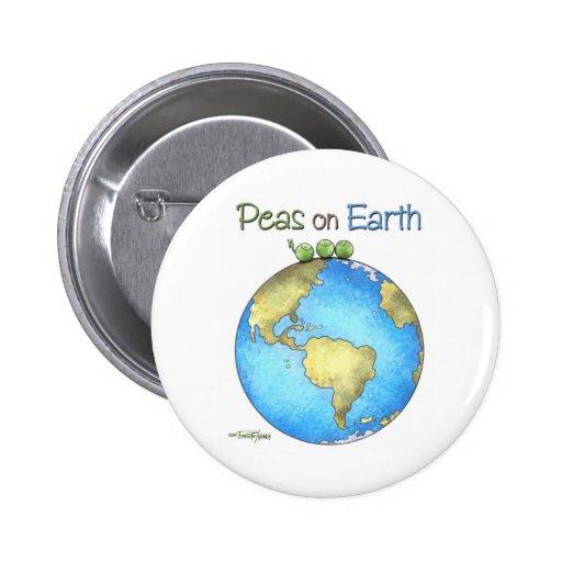Weltfrieden Button